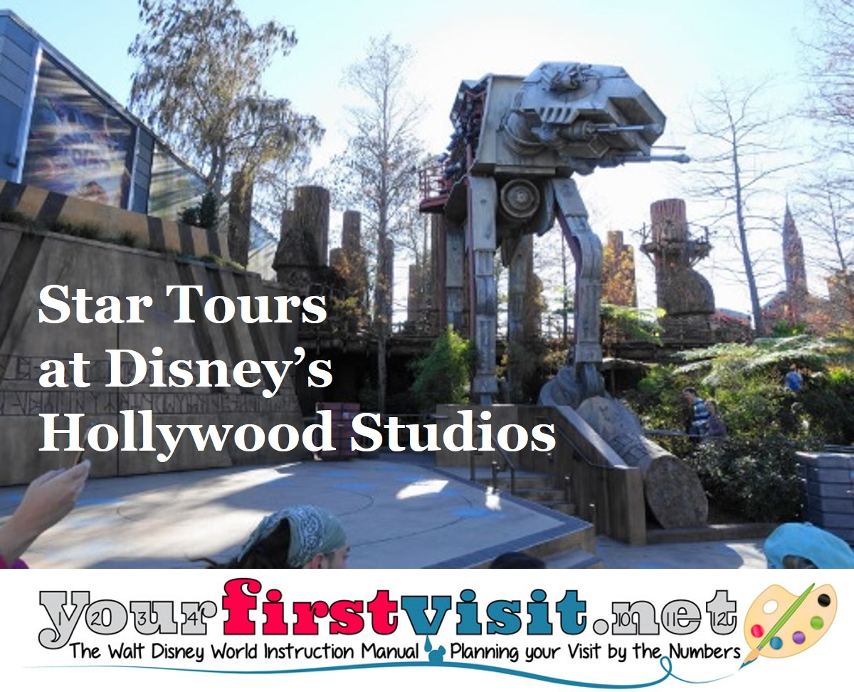 Star Tours The Adventure Continues Hollywood Studios