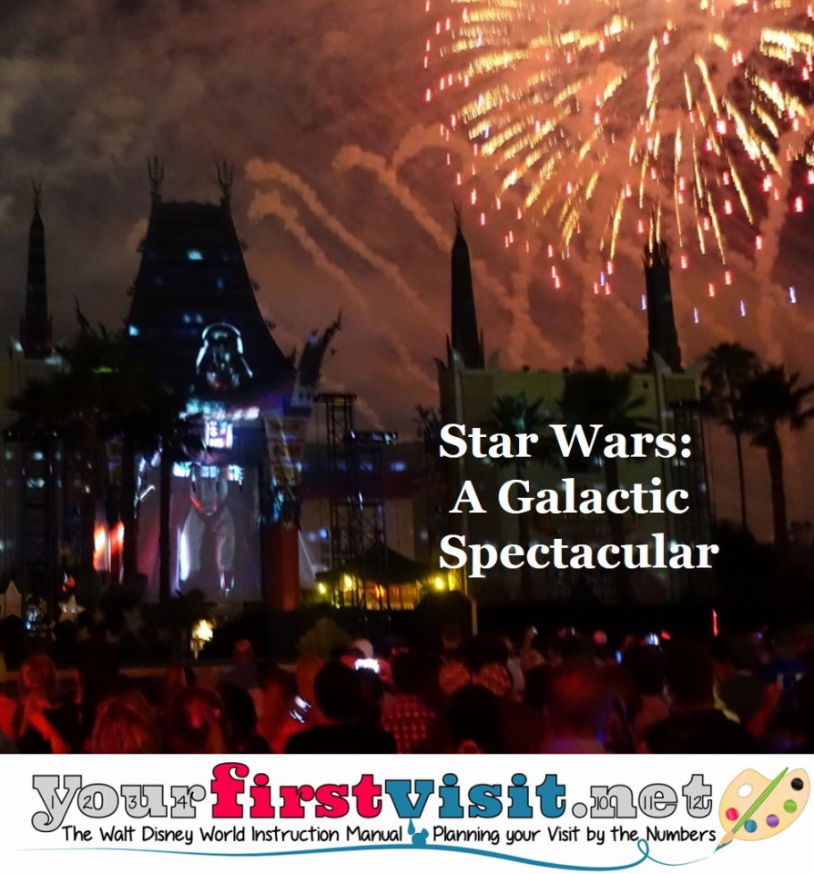 Review Star Wars A Galactic Spectacular from yourfirstvisit.net