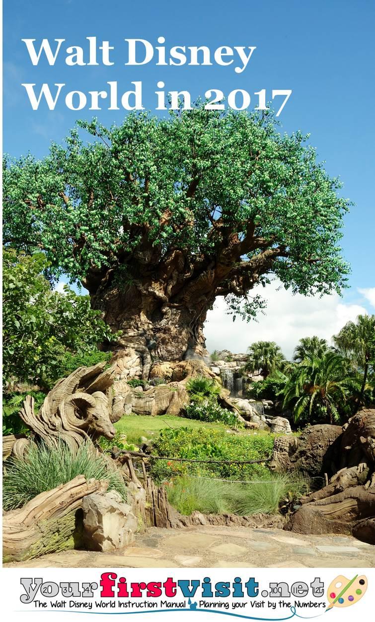 Walt Disney World in 2017 from yourfirstvisit.net