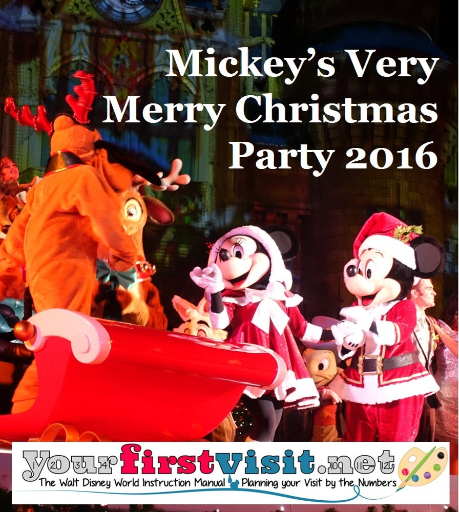 Disney S Very Merry Christmas Party Tickets: Review: The 2016 Edition Of Mickey's Very Merry Christmas