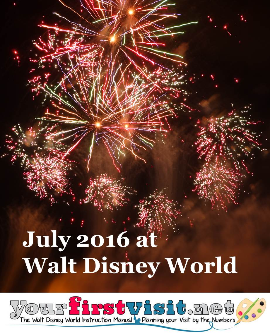 July 2016 at Walt Disney World from yourfirstvisit.net