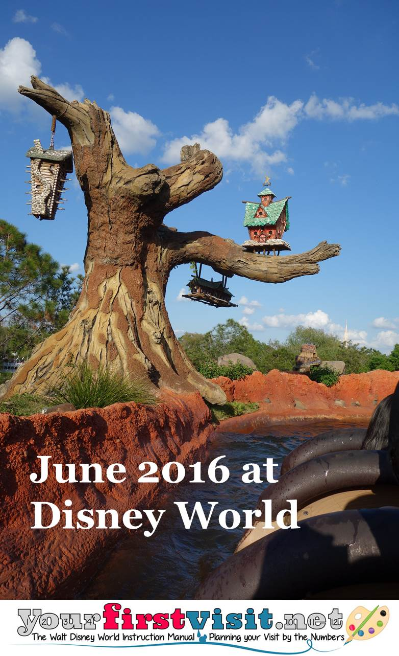 June 2016 at Walt Disney World from yourfirstvisit.net