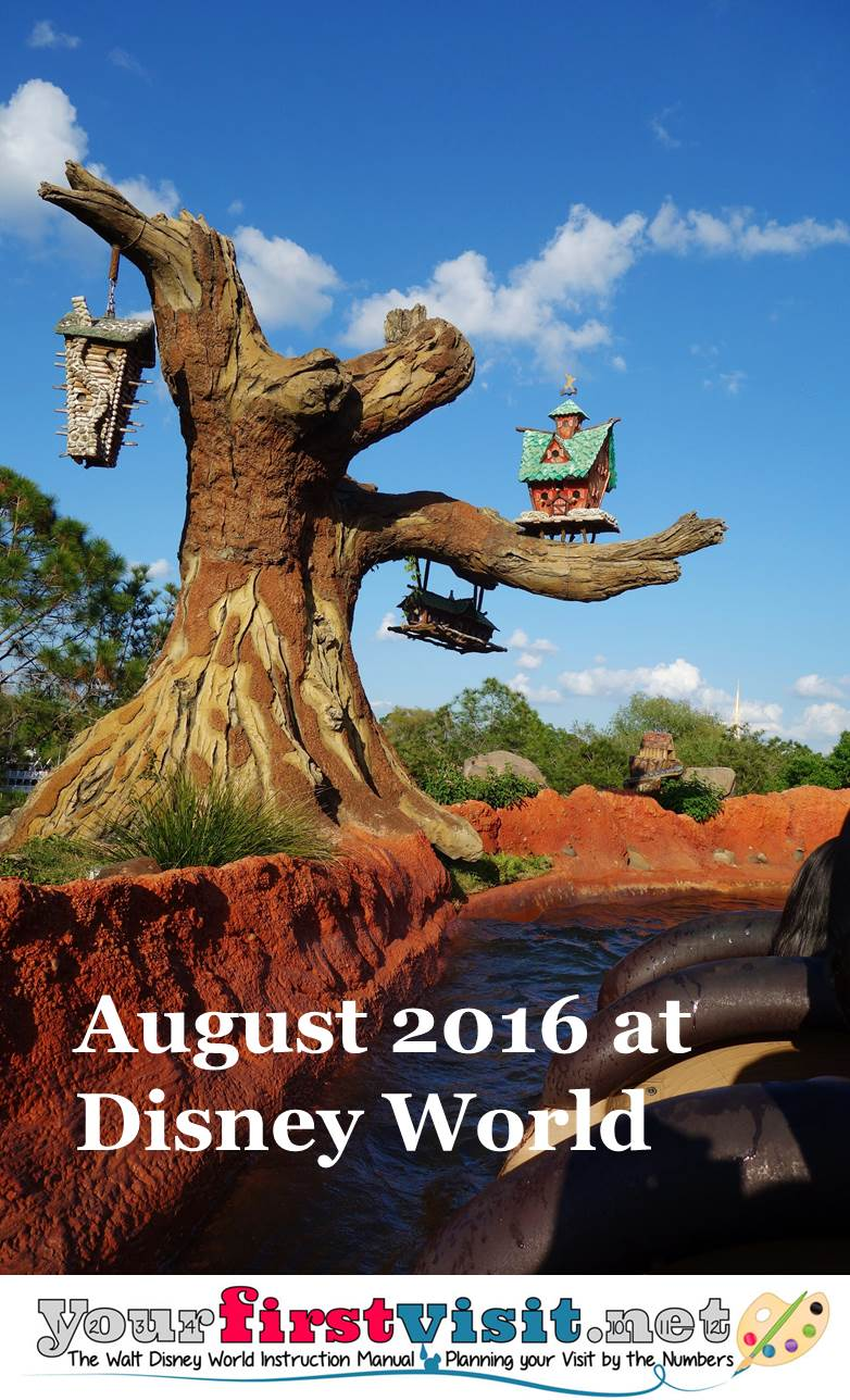 August 2016 at Disney World from yourfirstvisit.net