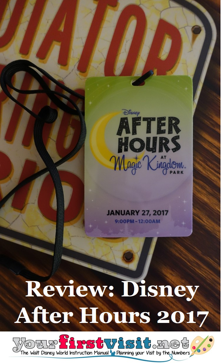 Disney After Hours 2017 from yourfirstvisit.net