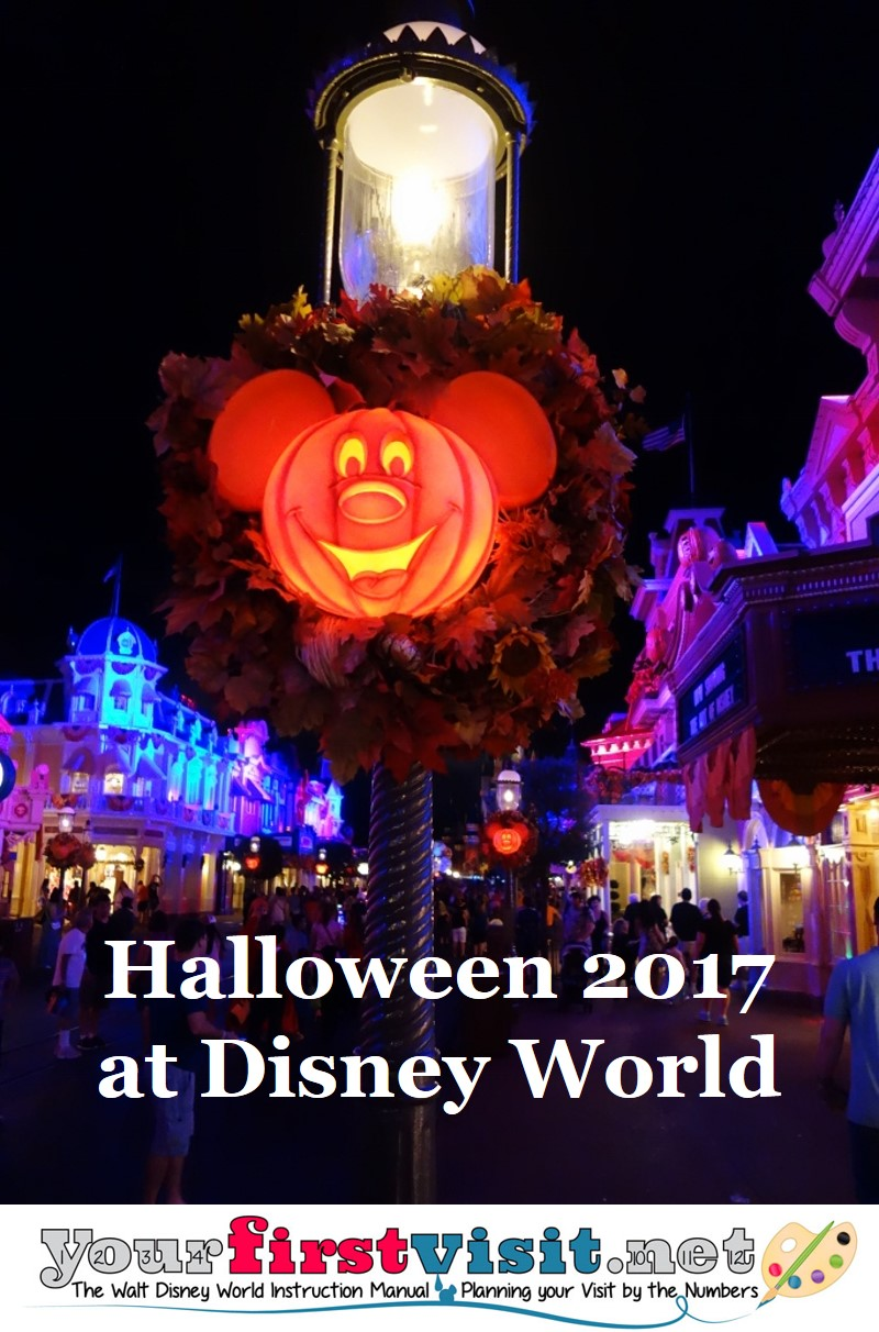 Halloween 2017 at Disney World from yourfirstvisit.net