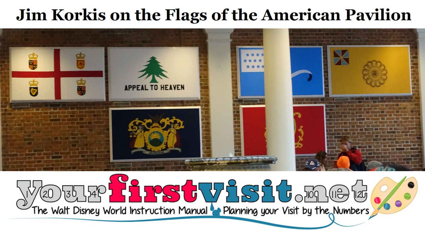 Jim Korkis on the Flags of the American Pavilion from yourfirstvisit.net