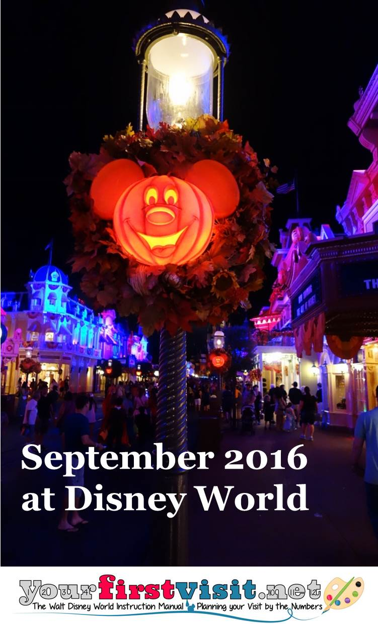 September 2016 at Disney World from yourfirstvisit.net