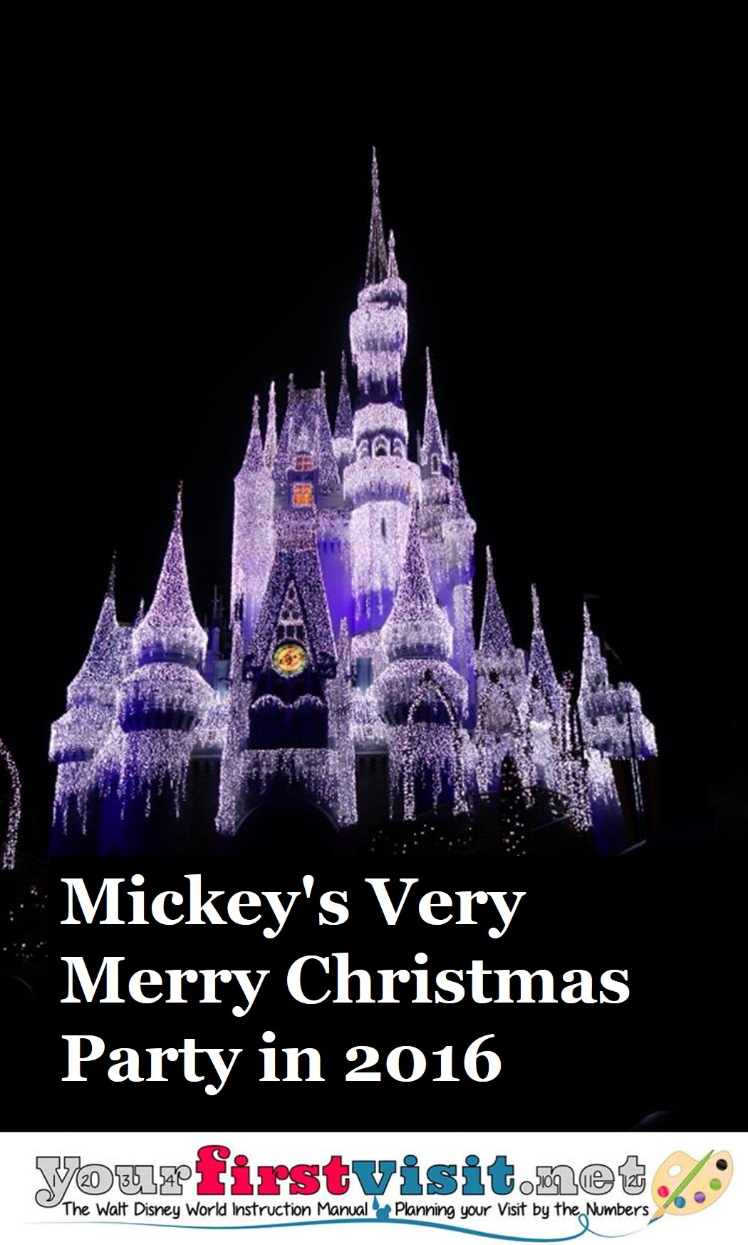 Mickey's Very Merry Christmas Party in 2016 from yourfirstvisit.net