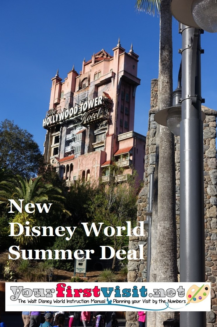 New Disney World Deal for Summer 2016 from yourfirstvisit.net