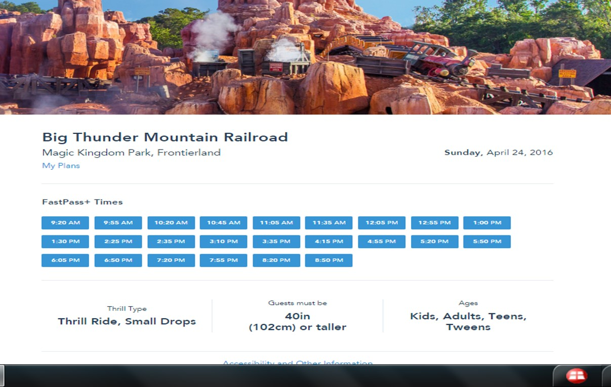 More FastPass+ Times from yourfirstvisit.net