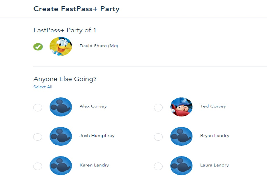 Party for FastPass+ from yourfirstvisit.net