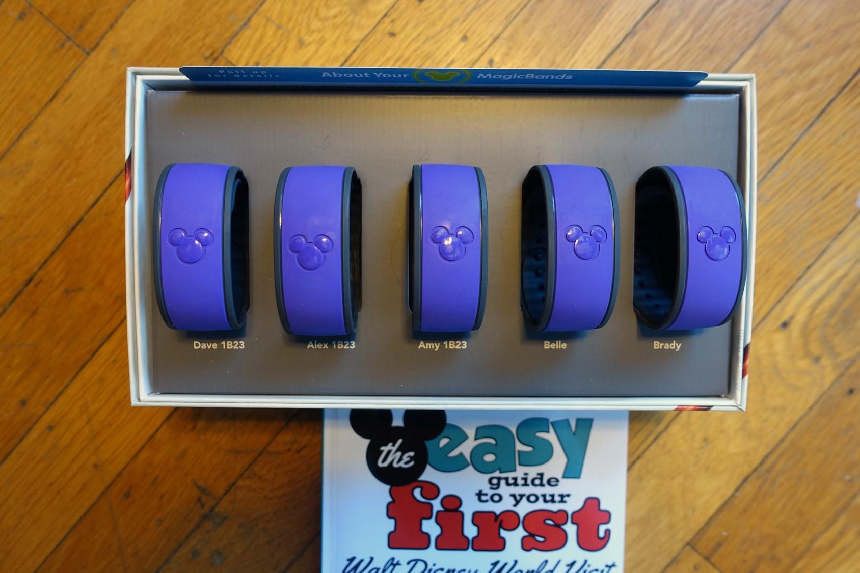 Purple MagicBands!