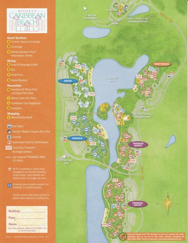 Review Disney s Caribbean Beach Resort yourfirstvisit