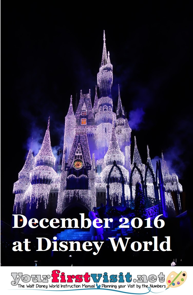 December 2016 at Disney World from yourfirstvisit.net