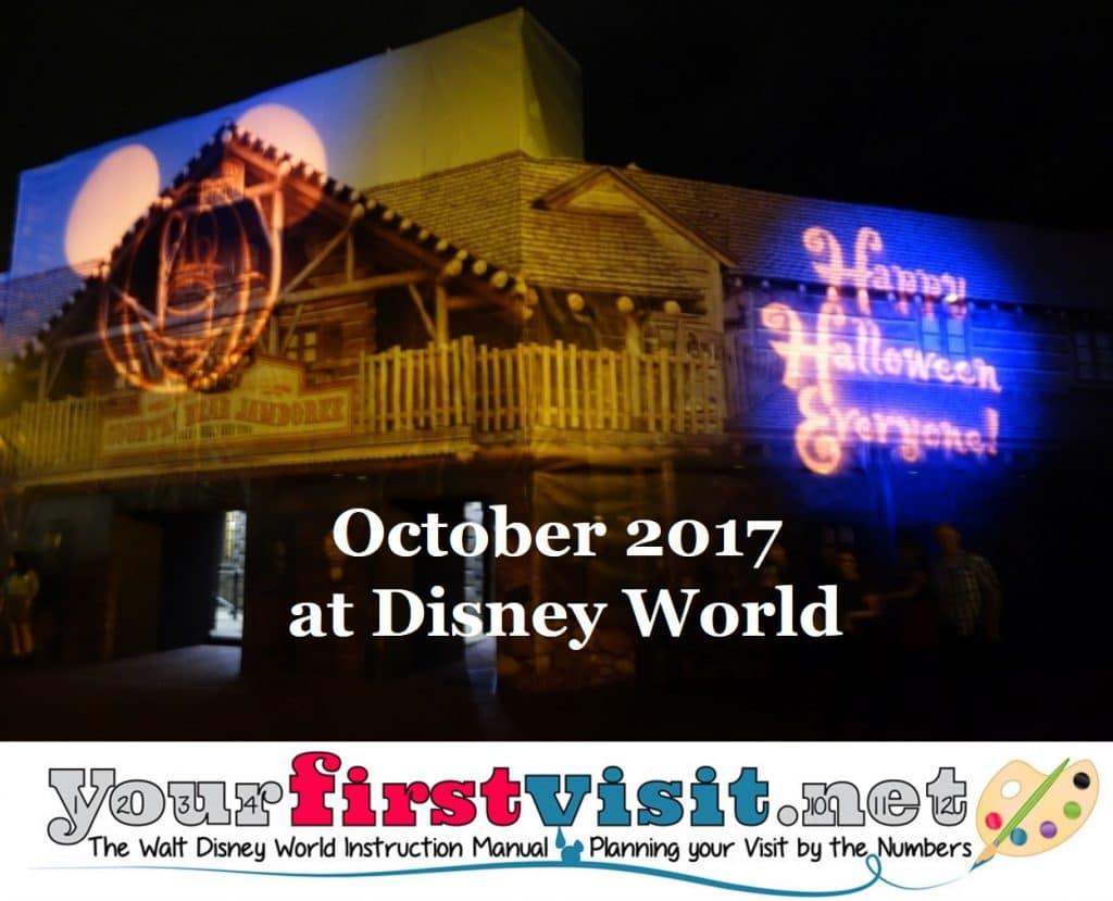 4. Halloween at Disney World - yourfirstvisit.net