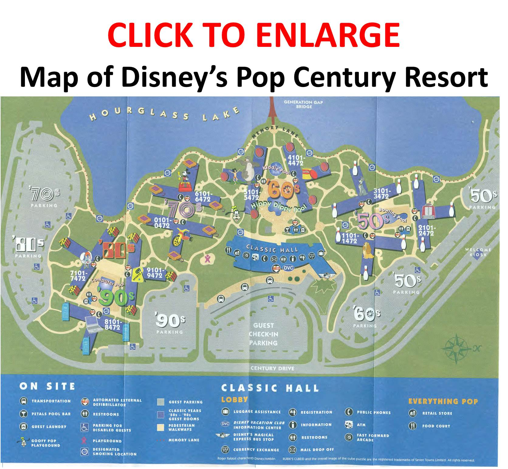 Review Disney S Pop Century Resort Yourfirstvisit Net