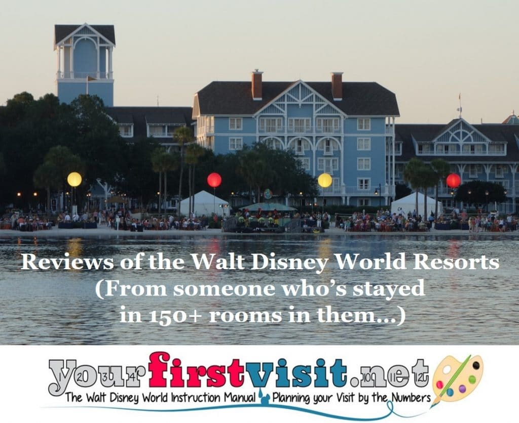 Reviews Of Disney Owned And Operated Resorts