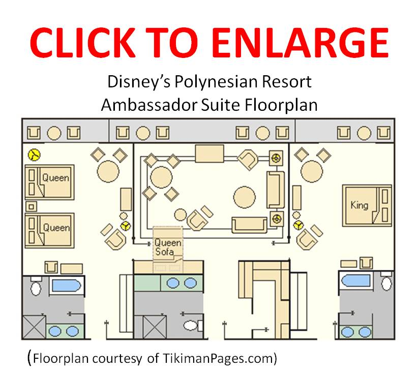 Accommodations At Disney S Polynesian Village Resort