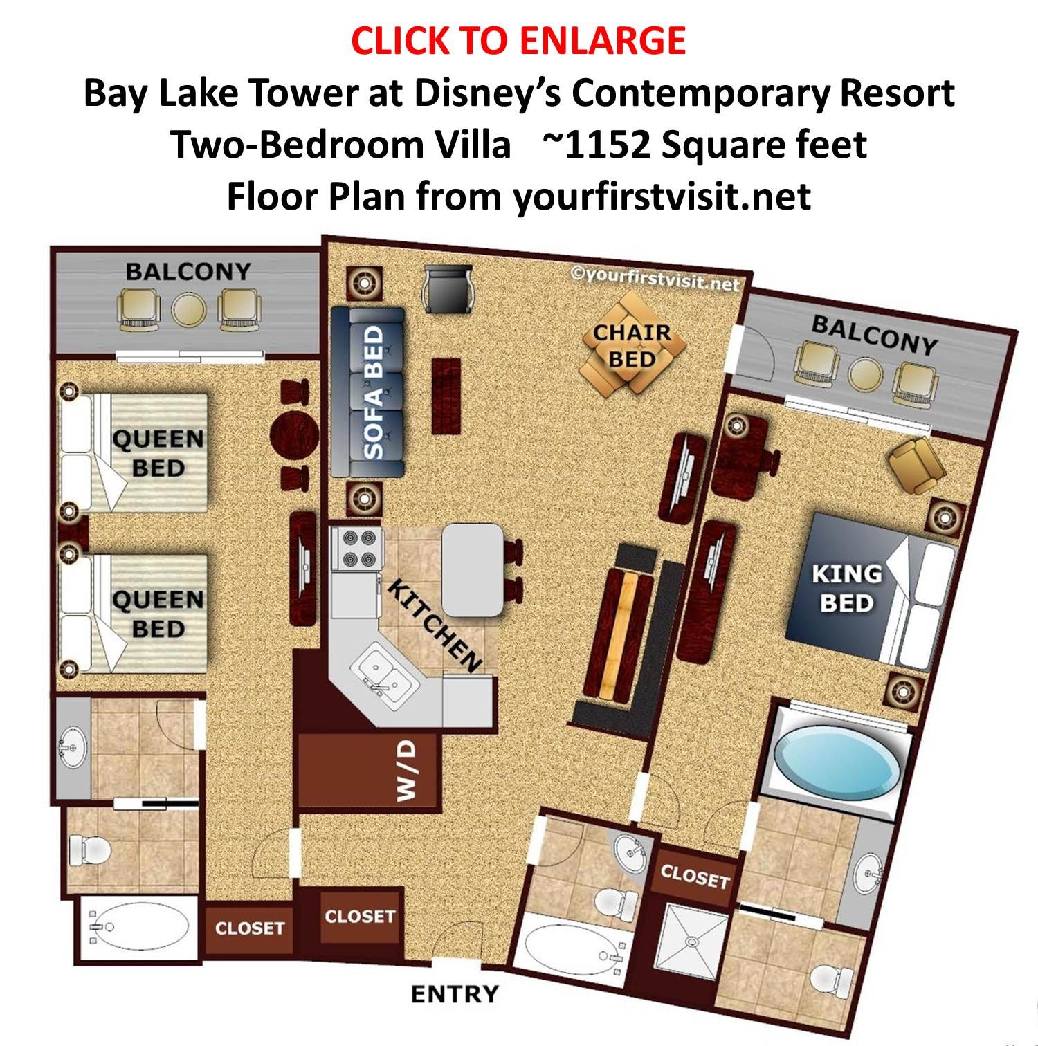 Theming And Accommodations At Bay Lake Tower At Disney S