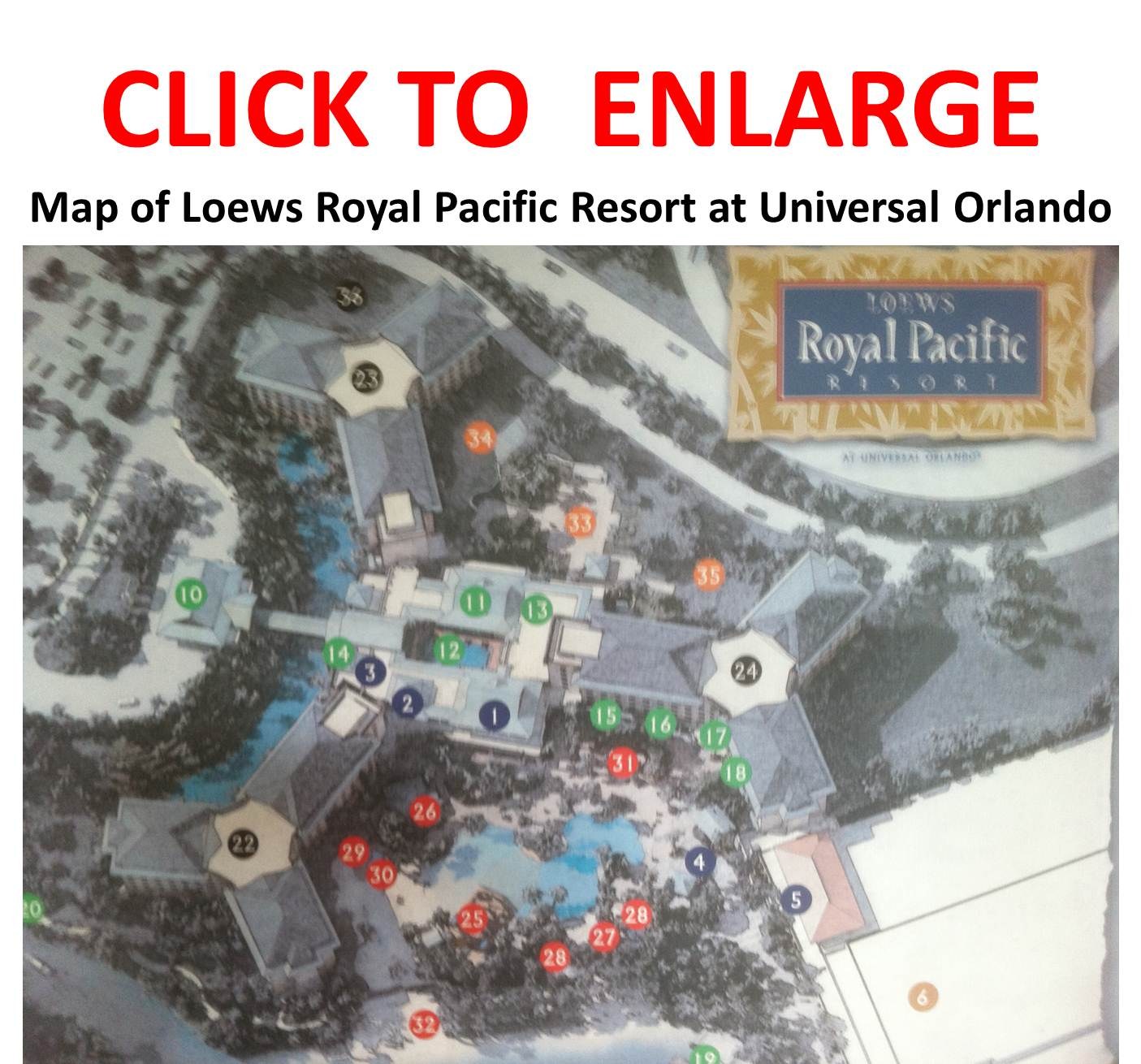 Review Loews Royal Pacific Resort At Universal Orlando Continued