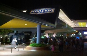 The 2014 Epcot International Food and Wine Festival