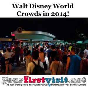 Disney World Crowds in 2014 from yourfirstvisit.net