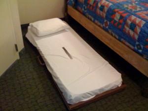 Old 5th Person Bed at POR