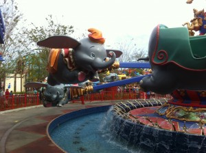 Dumbo at the New Fantasyland