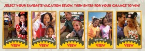 Disney World Giveaway Contest