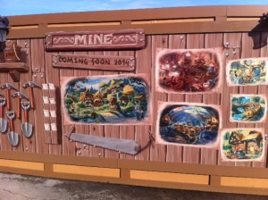 Seven Dwarfs Mine Train in 2014
