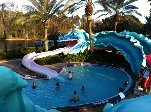 Serpent Slide Disneys Port Orleans French Quarter