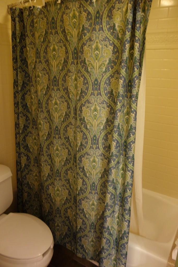 Shower Curtain Disney's Port Orleans French Quarter from yourfirstvisit.net