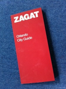 Zagat Orlando City Guide