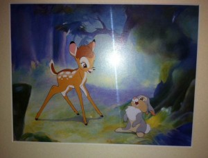 Bambi and Thumber at the Cabins at Disney's Fort Wilderness Resort