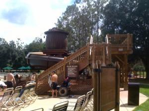 Main Pool Disney's Fort Wilderness Resort