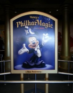 Mickey's PhilharMagic at the Magic Kingdom