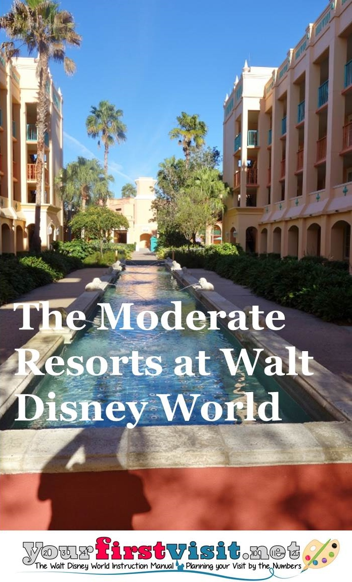 The Disney World Moderate Resorts from yourfirstvisit.net