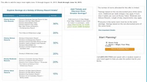 Disney World Deals for Summer 2013
