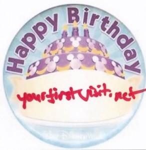 Happy Birthday yourfirstvisit.net