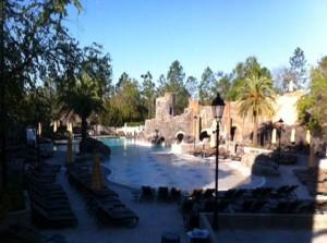 Main Pool at Loews Portofino Bay Hotel at Universal Orlando