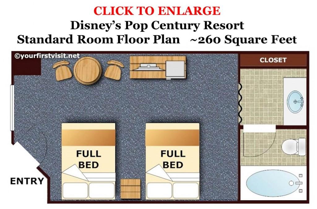 Pop Century Floor Plan from yourfirstvisit.net