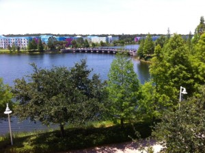 View from Recommended Location at Disney's Pop Century Resort