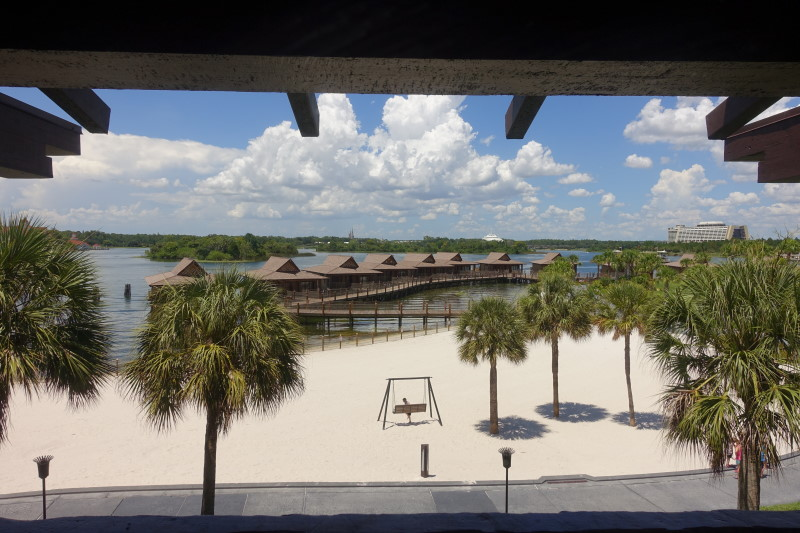Balcony View Disney's Polynesian Village Resort from yourfirstvisit.net