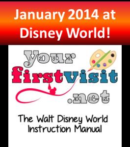 January 2014 at Walt Disney World from yourfirstvisit.net