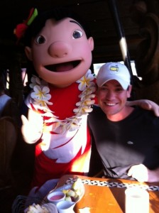 Lilo and Stitch Best Friends Character Breakfast at 'Ohana with my son ted
