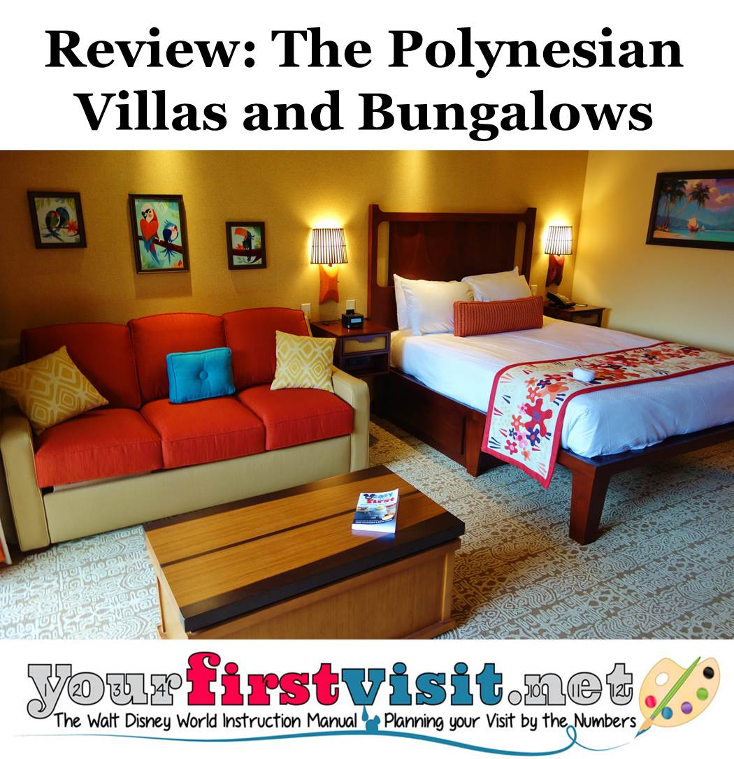 Review The Villas And Bungalows At Disney S Polynesian Village Resort