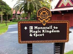 TTC Monorail and Disney's Polynesian Resort
