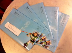 Not A Free Dining Pin Code in My Five Letters From Disney