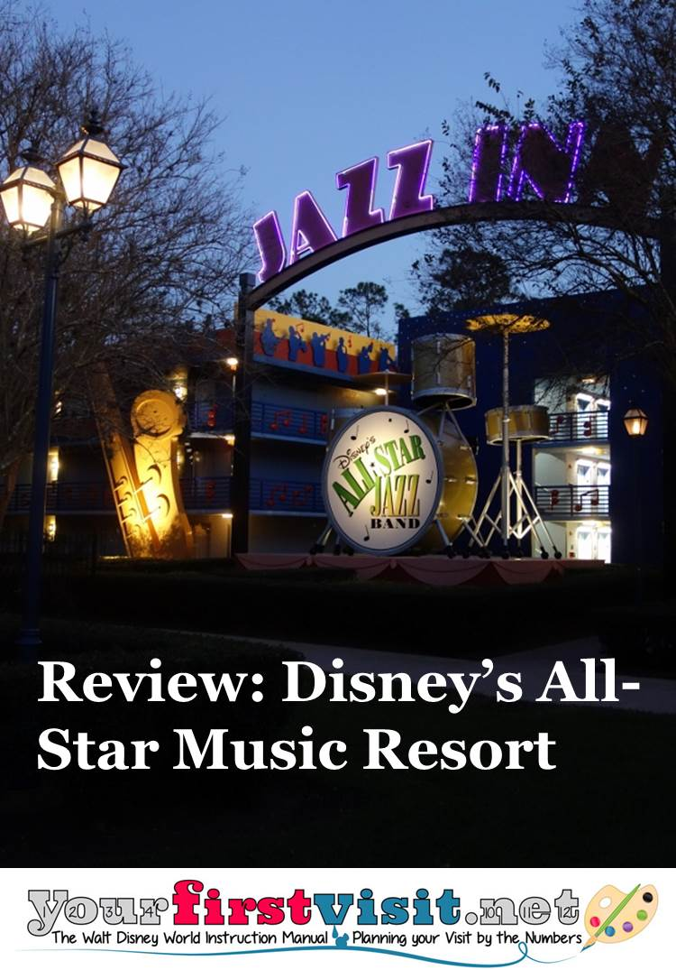 Review ~ Disney's All-Star Music Resort from yourfirstvisit.net