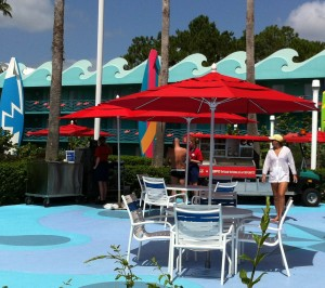 Poolside Grab and Go at Disney's All-Star Sports Resort